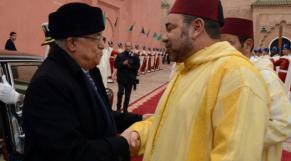Mohammed VI et Mahmoud Abbas