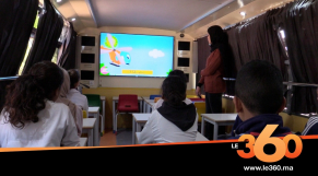 Cover_Vidéo: Le360.ma • حافلات المعرفة.. أقسام متنقلة لفك العزلة عن أطفال العالم القروي بخريبكة