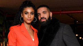 Imaan Hammam et Drake