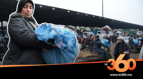 "cover vidéo :Le360.ma • قصة بائعة خضر تكافح من أجل ""حقها"" وأبنائها"