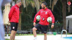 Wydad entraînement Tunis