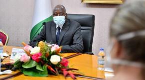 Côte d'Ivoire: le Premier ministre Amadou Gon Coulibaly en auto-confinement