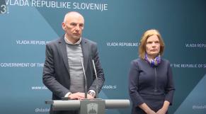 Conférence de presse slovénie