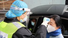 Coronavirus Hubei Chine