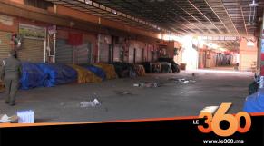Cover_Vidéo: سلطات أكادير تخلي سوق الأحد من التجار والمواطنين بسبب فيروس كورونا