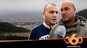 Cover_Vidéo:سائقوا شاحنات البضائع يروون تفاصيل رحلاتهم لأوروبا عبر طنجة المتوسط
