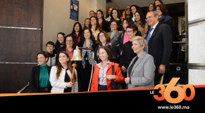 cover vidéo :Le360.ma •Ring the Bell for Gender Equality