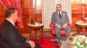 Le roi Mohammed VI reçoit Abdellatif Ouahbi, nouveau SG du PAM