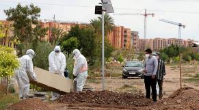 Coronavirus - Maroc - Enterrement