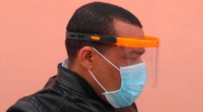 Protecteur facial, développé par Act4community
