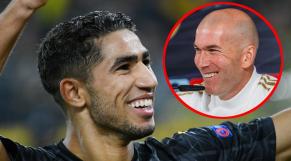 Hakimi et Zidane