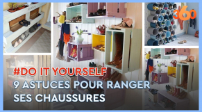 Cover_Vidéo: Ep3 Do It Yourself:  9 astuces pour ranger ses chaussures