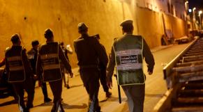 Corona Maroc Forces de l'ordre