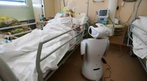 Italie-coronavirus-robot