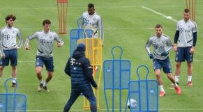 Bayern Munich entraînement