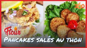 Cover_Vidéo: A l'heure du ftour Ep10 : Pancakes salés au thon, parmesan et ciboulette
