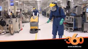 cover vidéo :Le360.ma • بعد تسجيل إصابات بكورونا بداخله.. مصنع يواصل الاشتغال بالبيضاء