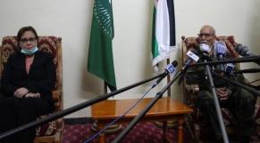 Kaouthar Kirikou et Brahim Ghali