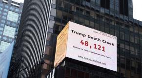 Horloge de la mort Times Square
