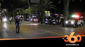 Cover_Vidéo: مطاردات ومراقبة أمنية مشددة لفرض حظر التجوال بأكادير