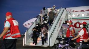 Arrivée de Marocains bloqués à l'étranger