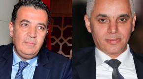 De g à d: Chakib Alj, président de la CGEM et Khalid Ait Taleb, ministre de la Santé