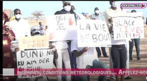 Vidéo. George Floyd: manifestation symbolique à Dakar pour dénoncer le racisme