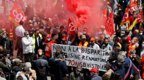 Manifestation Renault