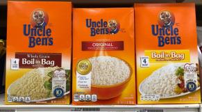 """La marque de riz """"Uncle Ben's"""""""