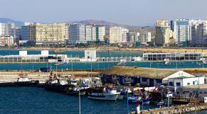 Tanger - port de Tanger Ville