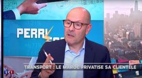 Pascal Perri, journaliste animateur de l'émission Perri Scope sur LCI