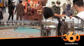 """Cover_Vidéo: السلطات المحلية بشاطئ """"عين الذئاب"""" تواصل فرض شروط الوقاية من كورونا"""