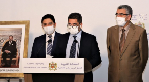 Saaid Amzazi, Nasser Bourita et Mustapha Ramid