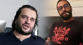 photomontage des portraits de Ali Amar et de Omar Radi