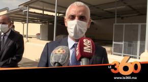 """Cover. Vidéo. Khalid Aït Taleb: """"La situation épidémiologique reste contrôlée"""""""