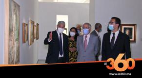Cover Vidéo - Inauguration officielle de la rétrospective de la peinture marocaine