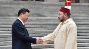 Roi Mohammed VI - Président Xi Jinping - Royaume du Maroc - République Populaire de Chine