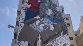 Fresque murale de Millo
