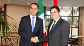 Nasser Bourita et Luigi Di Maio