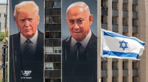 Donald Trump et Benjamin Netanyahu - Jérusalem