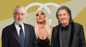 Robert de Niro, Lady Gaga et Al Pacino