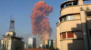 Explosion Beyrouth