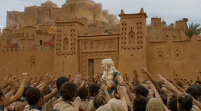 "Le tournage de ""Game of Thrones"" à Aït Ben Haddou"