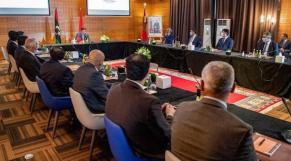 Le premier dialogue parlementaire inter-libyen, présidé par le ministre marocain des Affaires étrangères et de la coopération Nasser Bourita.