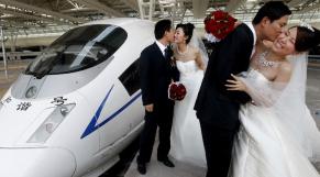 Chine - Mariage groupé
