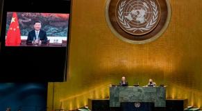Xi Jinping - 75e Assemblée générale ONU - Allocution