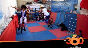 Cover Vidéo - طفلين بطنجة يحولان سطح منزلهما لفضاء تعلم فنون السيرك