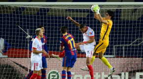Yassine Bounou Vs Barça