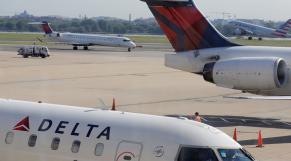 Avion compagnie Delta