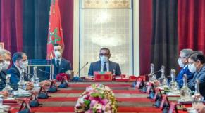 Conseil des ministres - Roi Mohammed VI